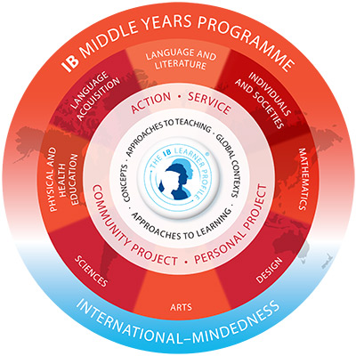 myp curriculum model